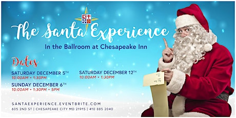 The Santa Experience at Chesapeake Inn tickets