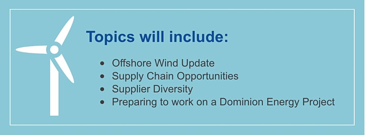 Supplier Readiness Event: Dominion's Coastal Virginia Offshore Wind Project image