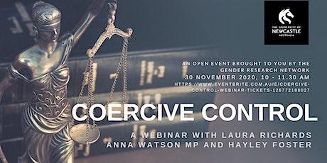 Coercive Control Webinar tickets