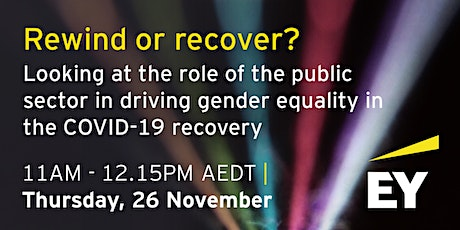 Rewind or recover? Gender Equality and COVID-19 Recovery tickets