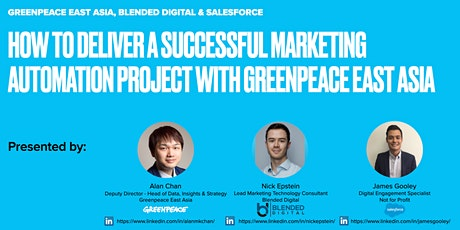 Marketing Cloud Implementation success factors with Greenpeace East Asia tickets