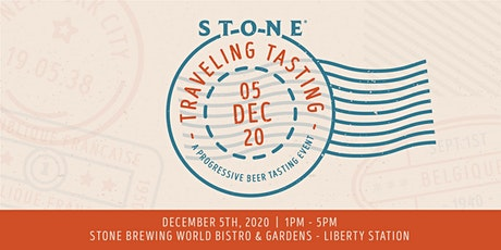 Stone Traveling Tasting tickets