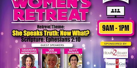 Heart 2 Heart Women's Virtual Retreat 2021 tickets