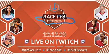 Race Me: athletes and gamers for diversity & inclusion tickets