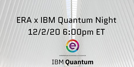 ERA x IBM Quantum Computing Night tickets