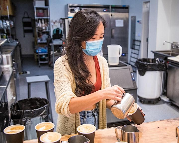 Paper Moon Cafe Latte Art Class image