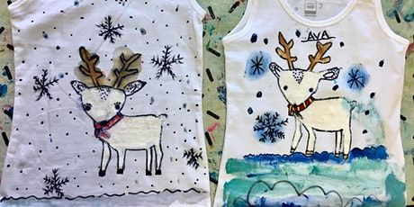 THE CHROMA KIDS CHRISTMAS FABRIC PAINTING HOLIDAY WORKSHOP tickets