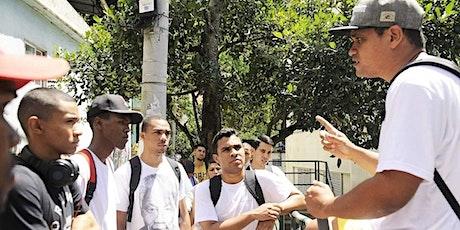 Live Virtual Tour from favela of Babilônia com André Constantini ingressos