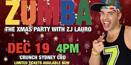ZUMBA XMAS PARTY with ZJ Lauro de Sousa tickets