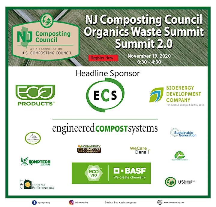 NJ Composting Council Organics Waste Summit - Summit 2.0 image