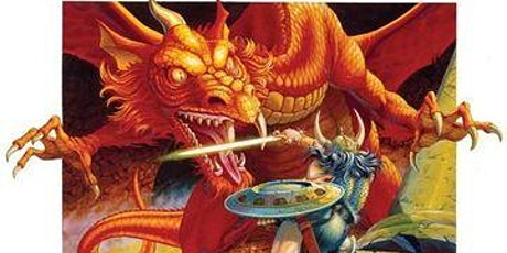 Dungeons & Dragons Game Session tickets