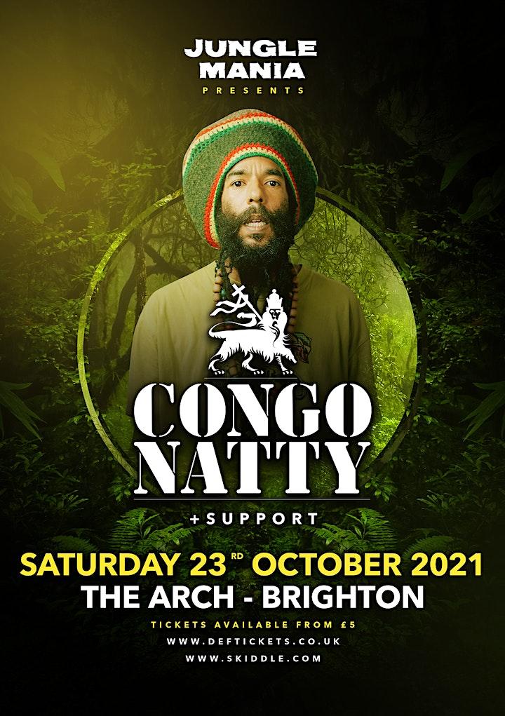 Jungle Mania presents Congo Natty image