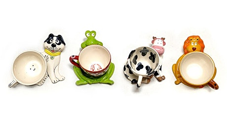 Kids Pottery Painting (Cup with Animal Saucer) tickets