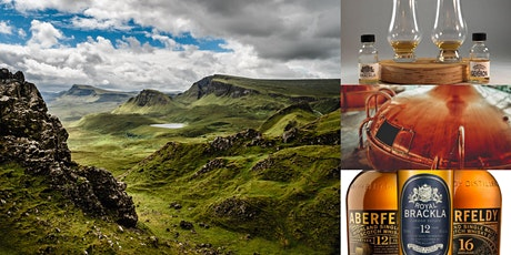 'Scotland's Whisky Regions' Webinar w/ Curated Scotch Whisky Kit Tasting tickets
