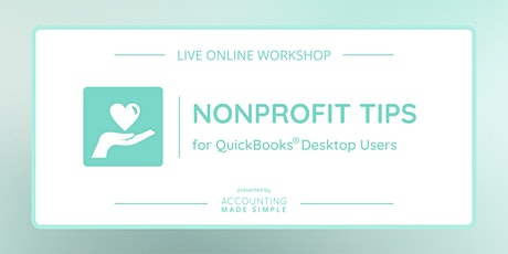 Nonprofit Tips for QuickBooks Desktop Users tickets