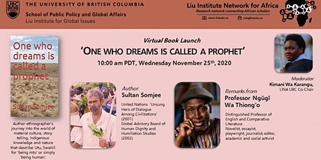 """Virtual Book Launch: """"One Who Dreams is Called Prophet"""" tickets"""