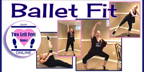virtual Ballet Fit  Workout  - Wednesdays & Fridays tickets