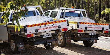 Shire of Mundaring Bushfire Information session - Webinar 2 tickets