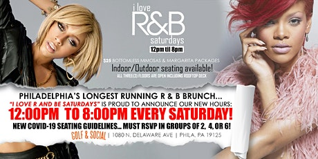 I LOVE R AND B SATURDAYS CHICKEN & WAFFLES ROOFTOP EXPERIENCE tickets