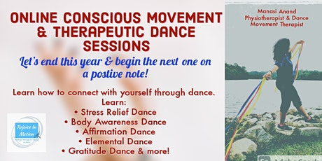 Online Conscious Movement & Therapeutic Dance Sessions (Weekend Program) tickets
