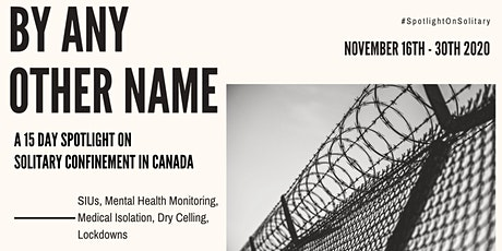 By Any Other Name:  The International Response to COVID-19 in Prisons tickets