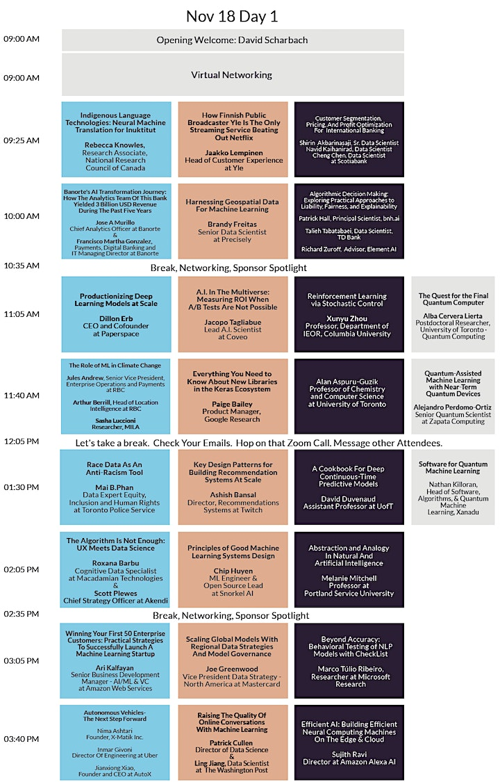 Toronto Machine Learning Society (TMLS) : 2020 Annual Conference & Expo image