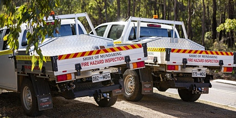 Shire of Mundaring Bushfire Information session - Webinar 2 tickets
