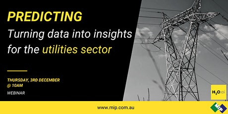 Prediction Series: Turning data into insights for the utilities sector tickets
