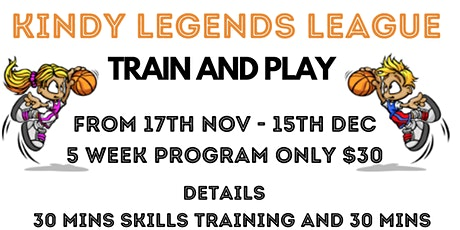 Kindy Legends League tickets