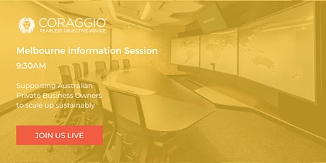 Melbourne information session tickets