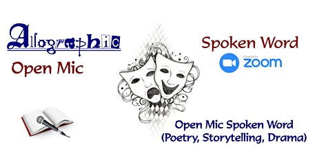 Allographic Virtual Open Mic tickets