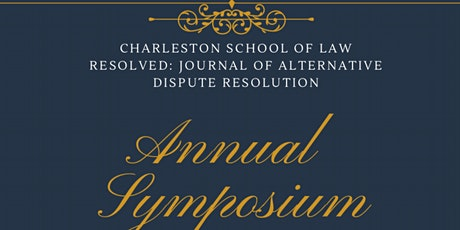 Resolved Journal of Alternative Dispute Resolution Annual Symposium tickets
