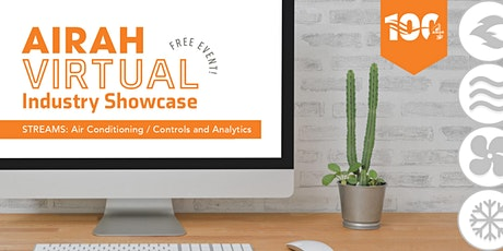 AIRAH Virtual Industry Showcase – Air Conditioning / Controls and Analytics tickets