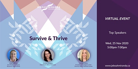 Survive and Thrive tickets