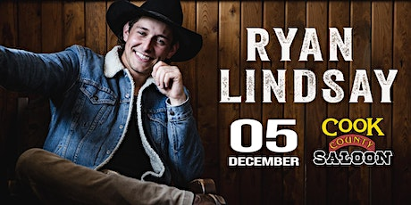 Ryan Lindsay at Cook County Saloon - Edmonton, AB tickets