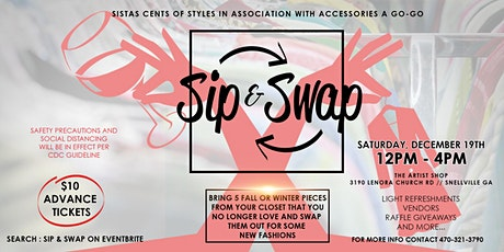 SIP AND SWAP tickets