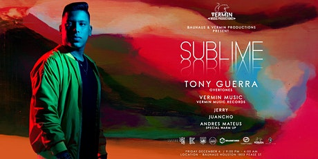 TONY GUERRA & Vermin Music at Bauhaus tickets