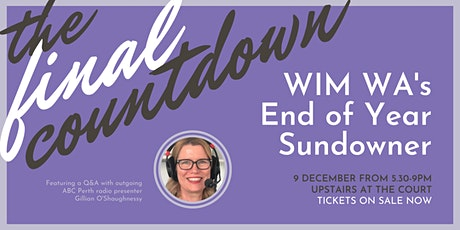 WiM WA End of Year Sundowner tickets