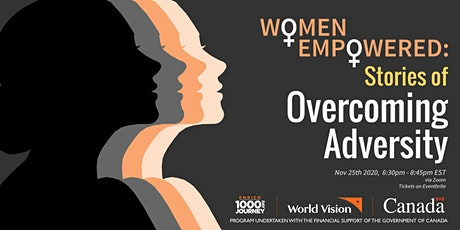 Women Empowered: Stories of Overcoming Adversity tickets