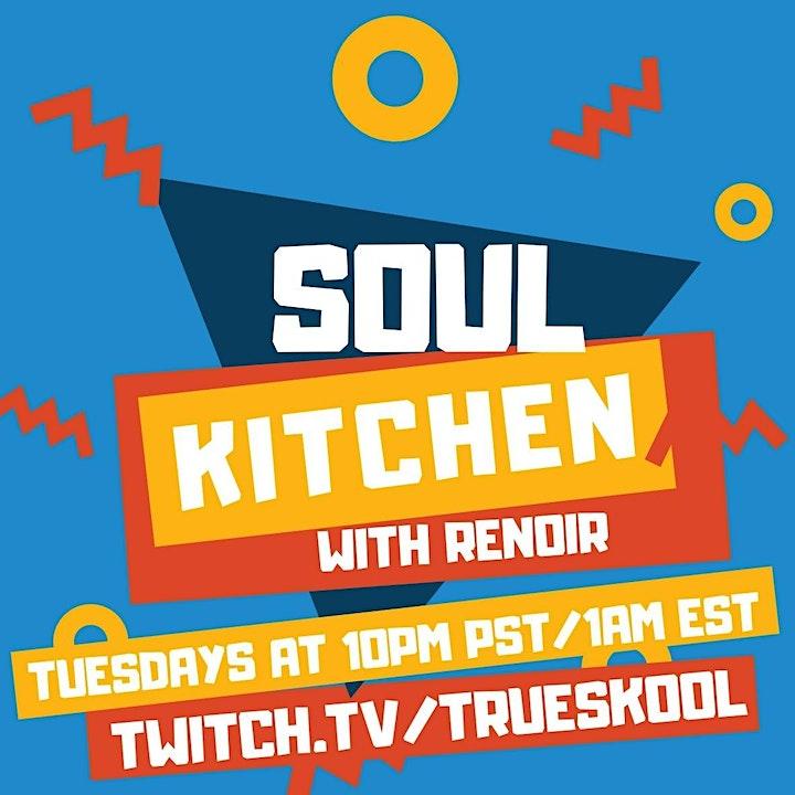 SOUL KITCHEN: A Soul & Funk Virtual Party image