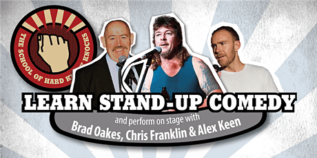 Learn stand-up comedy in Melbourne this March with Chris Franklin tickets
