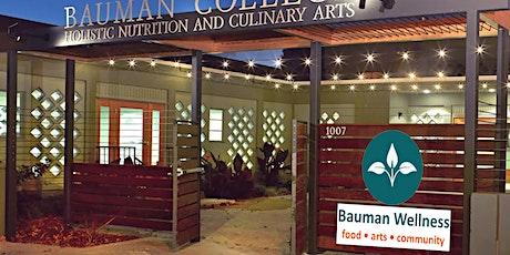 bauman wellness community launch online & in Berkeley, CA tickets