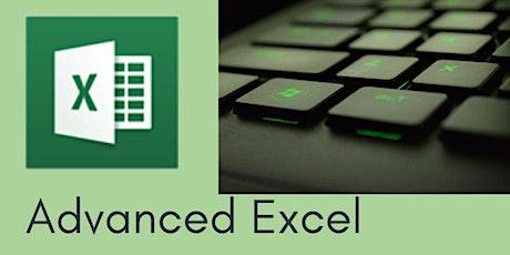 Advanced Excel - 3 hr Zoom Workshop tickets