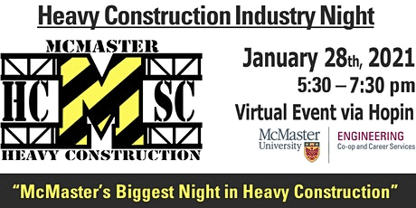 2021 Heavy Construction Industry Night tickets
