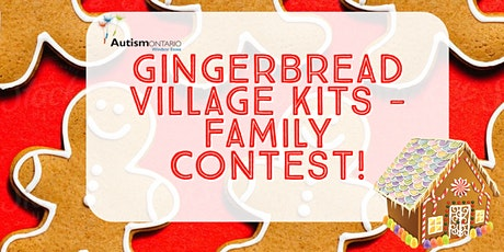 Gingerbread Village Kit - Family Contest tickets