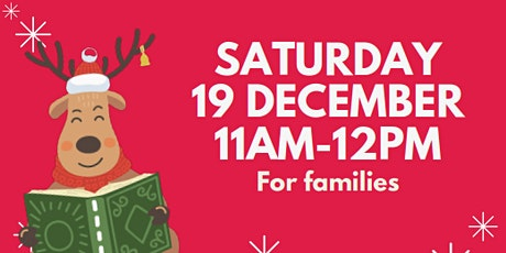Christmas Storytime - Hub Library tickets