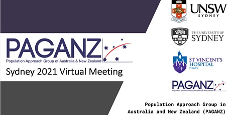 Oral Presentation Session 1, PAGANZ Sydney 2021 Virtual Meeting tickets
