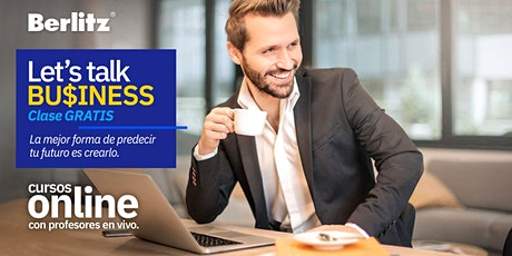 Clase GRATIS! - Let's talk Business OnLine - inglés de Negocios boletos