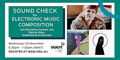 WAM Sound Check for Electronic Music Composition tickets