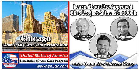 Chicago EB-5 American Green Card Virtual Market Series tickets